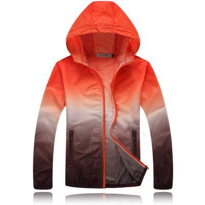 Couples Thin Windbreaker Fast Dry Sun Proof Transparent Jacket Single Layer Basic Quality Outwear-Coats & Jackets-SheSimplyShops