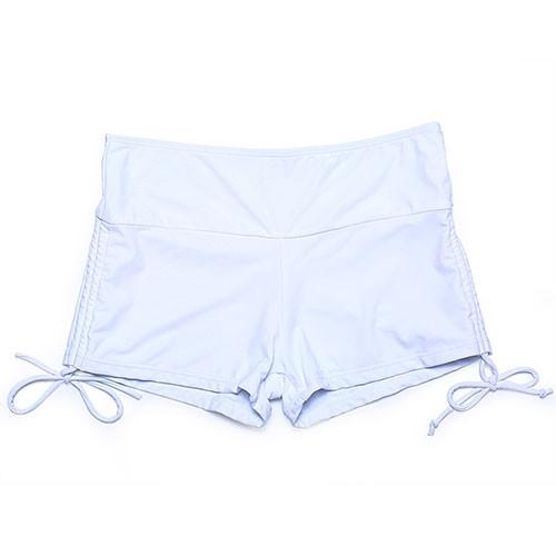New Seven size Women high waist Bikini Bottoms Swim trunks Sexy solid Swimming Trunks Swimwear-Bottoms-SheSimplyShops