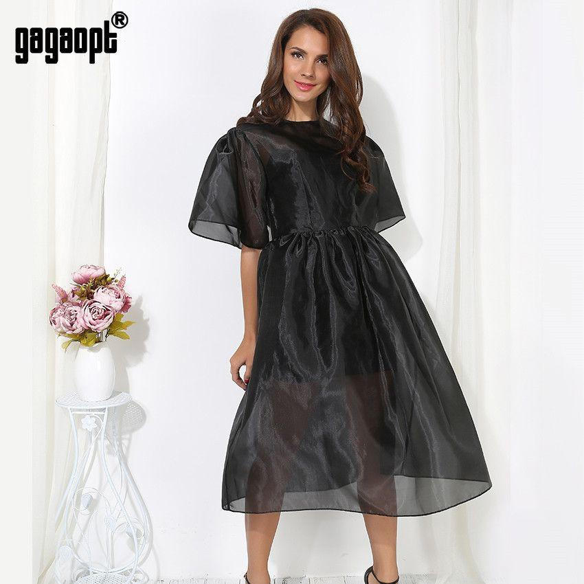 Butterfly Sleeve Ball Gown Dresses Black 2 piece Vintage Elegant Dress for Party Spring/Summer-Dress-SheSimplyShops