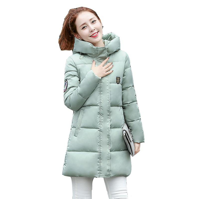 Thickening Cotton Long Winter Jacket-Coats & Jackets-SheSimplyShops