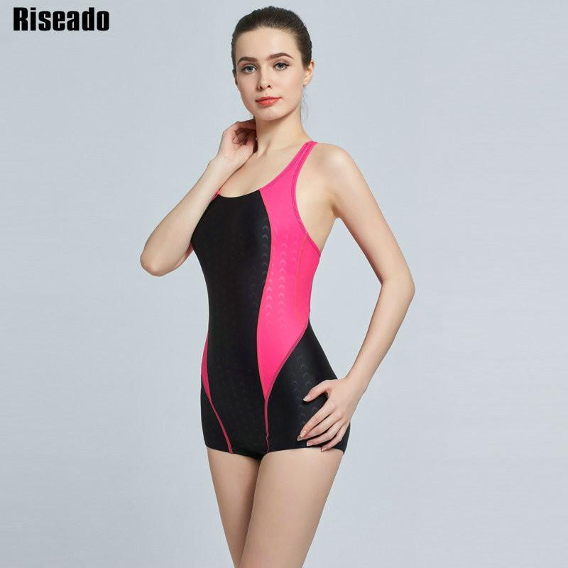 New Swimwear Sports Swimming One Piece Swimsuit Sexy Backless Swimsuit Bathing Suits-ACTIVEWEAR-SheSimplyShops