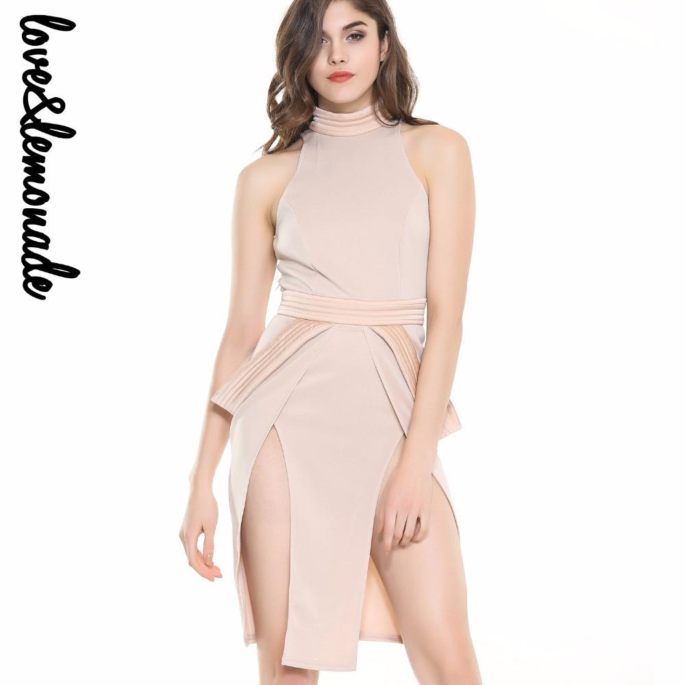 Sexy Cross Cut Out Party Dress-Dress-SheSimplyShops