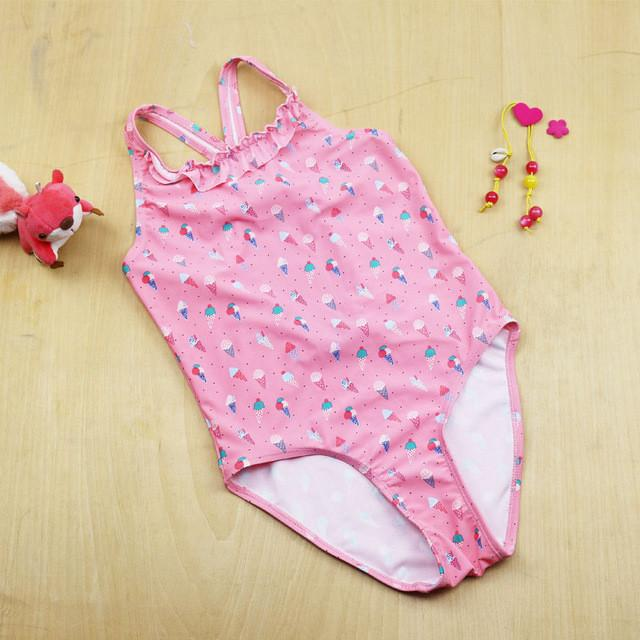 New Summer children's swimsuit Kids Bathing Suits Girls One Piece bikini Children Spa swimsuit girls Floral swimsuit-SWIMWEAR-SheSimplyShops