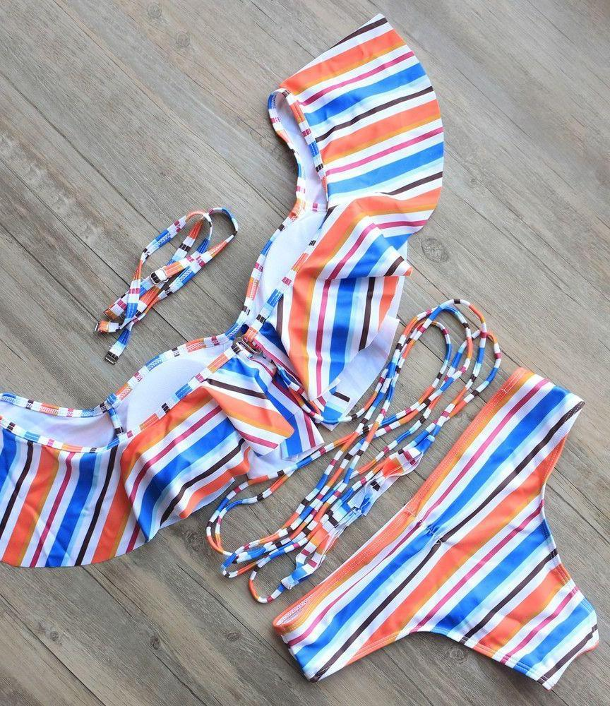 Bandage Bikini Sets Push Up Bra Swimsuit Bathing Suit Brazilian Biquini-SWIMWEAR-SheSimplyShops