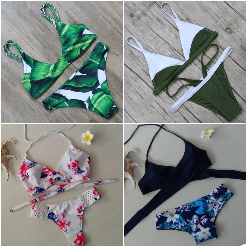 Brazilian Push Up Bikinis Set-Women - Apparel - Swimwear - Bikinis Sets-SheSimplyShops