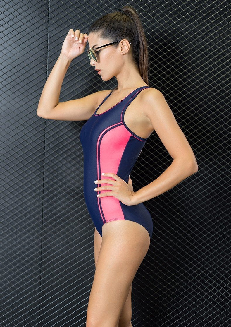 New Style New One Piece Swimsuit Large Size Swimwear Swimwear Women Sport Sexy Bodysuits Backless Swimsuits-ACTIVEWEAR-SheSimplyShops