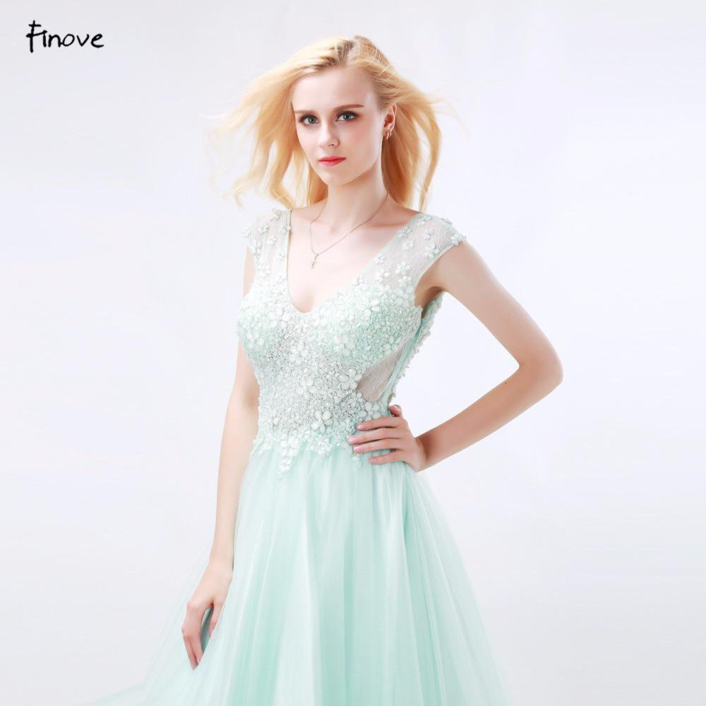 Long Prom Dresses Ball Gown V-Neck Cap Sleeve with Beading Backless Floor-Length Home coming Dresses-Dress-SheSimplyShops