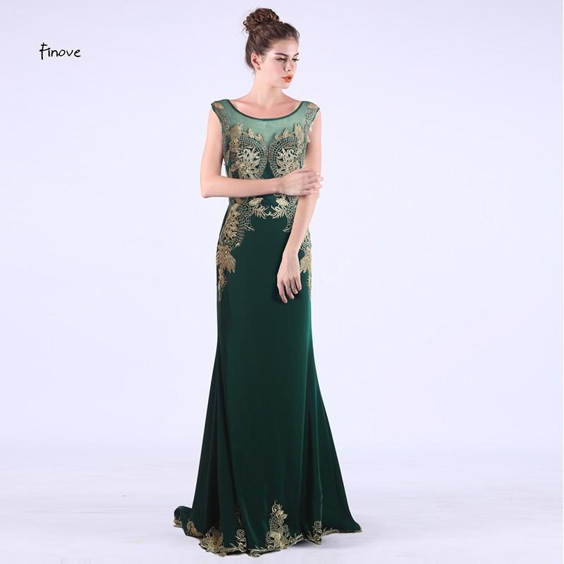 Summer Style New Embroidery Mermaid Evening Gowns Dress Sexy Party Dress Plus Size Formal Dresses-Dress-SheSimplyShops