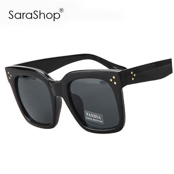 SARA New Fashion Vintage Sunglasses Women Brand Designer Square Sun Glasses Men Women Glasses A627-SUNGLASSES-SheSimplyShops