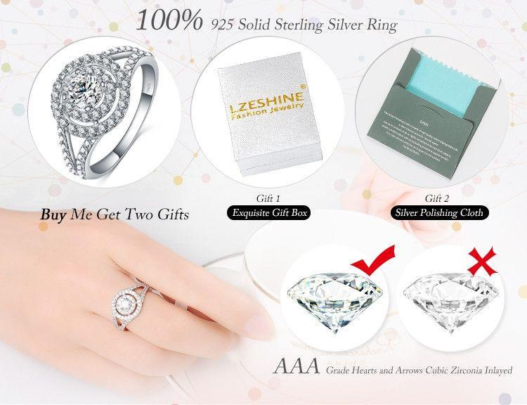 Big Promotion Exquisite 18K Gold/Platinum Plate Micro Inlay Clear AAA Cubic Zircon Couple Knuckle Rings-SheSimplyShops