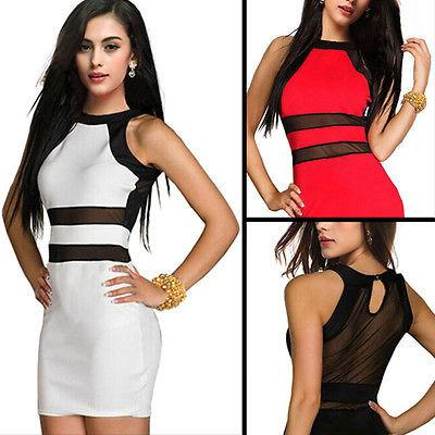 New Women Bandage BodyCon Lace Evening Sexy Party MINI Dress 3 Colors-Dress-SheSimplyShops