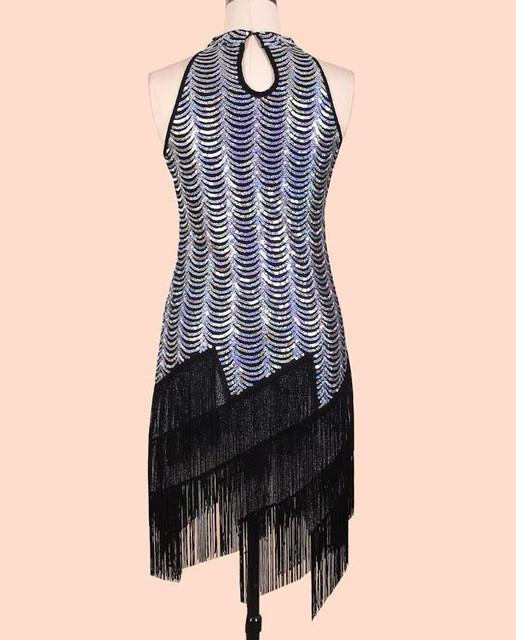 Elegant Sequined Tassels Luxury Dress Beautiful Women Clothes-Dress-SheSimplyShops