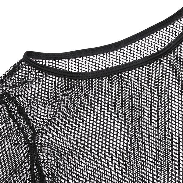 New Three Pieces Swimsuit Sexy Women Swimwear Solid Mesh Patchwork Bikini Set Halter Bathing Suits Biquini-SWIMWEAR-SheSimplyShops