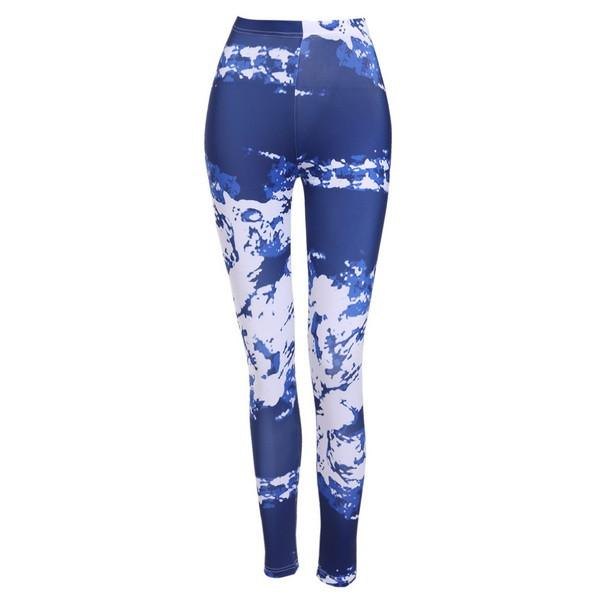 Fashion Women leggings High Waisted Print Stretch Trousers Casual Skinny pant legging for Women-PANTS-SheSimplyShops