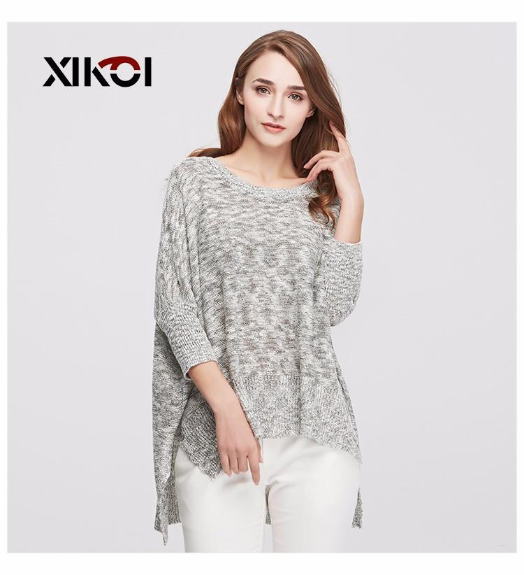 New Spring Sweater Women Pullovers Casual Fashion Ladies Clothing O-Neck Flat Knitted Autumn Woman Sweaters Clothes-SWEATERS + CARDIGANS-SheSimplyShops