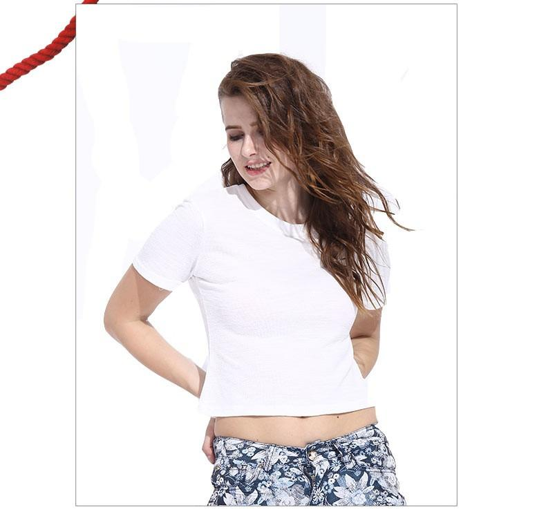 summer new arrival short shirts women tops short sleeve tops girls Korea style white t-shirts-SHIRTS-SheSimplyShops