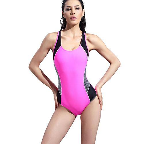 swimwear women New One Piece Swimsuit 3 color Women Sport Sexy Backless Bodysuits Swimsuits-ACTIVEWEAR-SheSimplyShops
