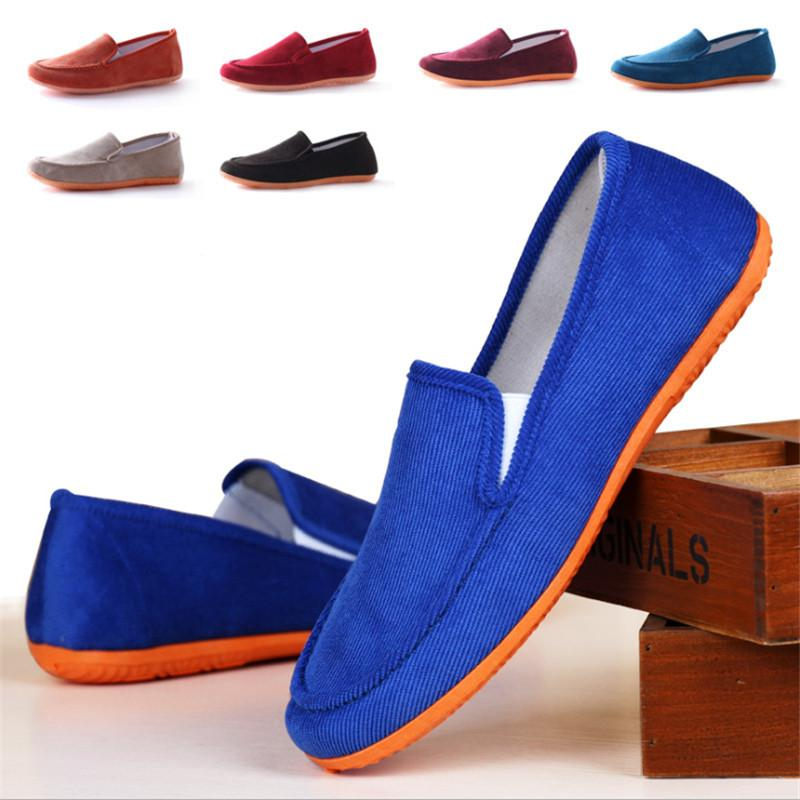 Men and women casual flat heels, sandals canvas lovers, outdoor leisure shoes, student flat shoes,new canvas shoes 9 color-SLIPS-SheSimplyShops