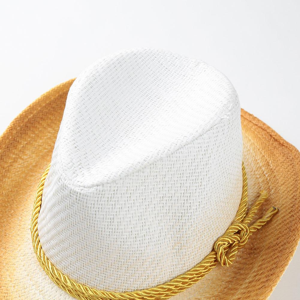 New Summer Hats For Women Contrast Color Wide Brimmed Jazz Panama Hat Feminine Sun Visor Beach Hat Capella-HATS-SheSimplyShops