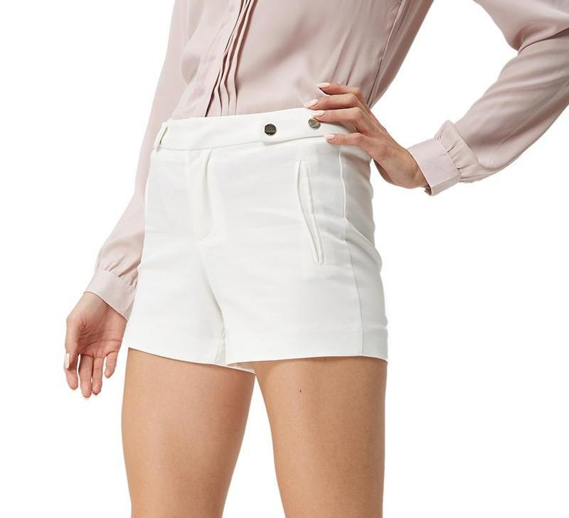 New Arrive Women Shorts High Quality Solid Office Style Summer Shorts Short women-PANTS-SheSimplyShops