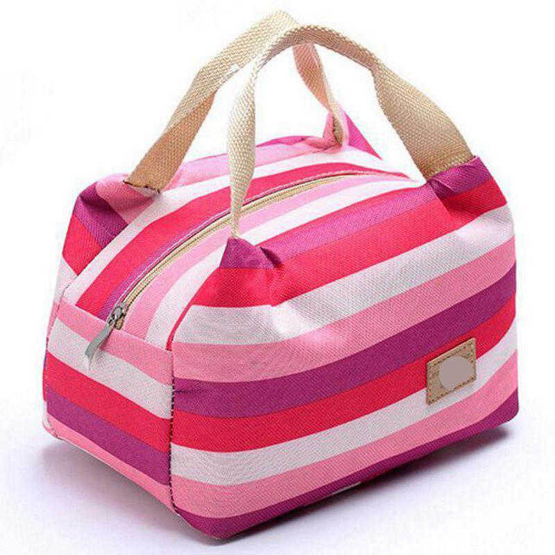 women bags lunch bag cooler insulated picnic bag kid oxford canvas bags women thermal insulation bolsa termica tote D10-74-Tops-SheSimplyShops