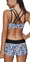 Sexy Three pieces with Shorts Sporty Bathing Suits-ACTIVEWEAR-SheSimplyShops