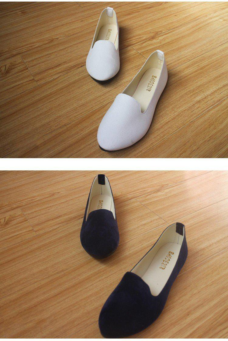 Flat Ballet Shoes-SLIPS-SheSimplyShops