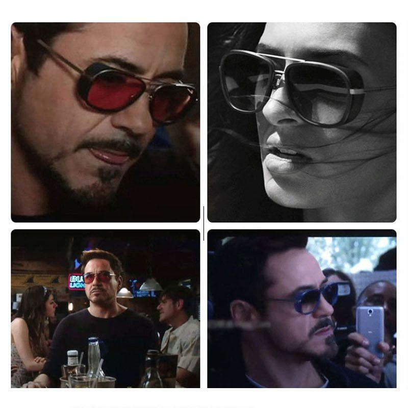 Cheaper Iron Man 3 Matsuda Sunglasses Men Square Sun Glasses Brand Designer Women Punk Sunglass-SUNGLASSES-SheSimplyShops