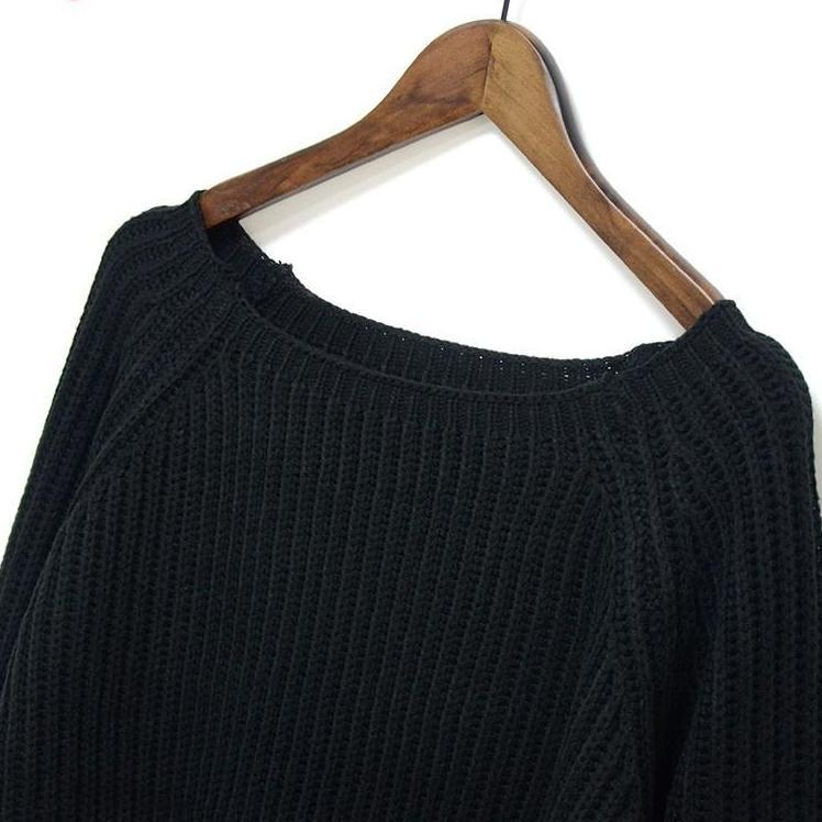 Autumn winter new crop sweater casual sexy women sweaters and pullovers knitted jumpers short basic solid slim pull-SWEATERS + CARDIGANS-SheSimplyShops