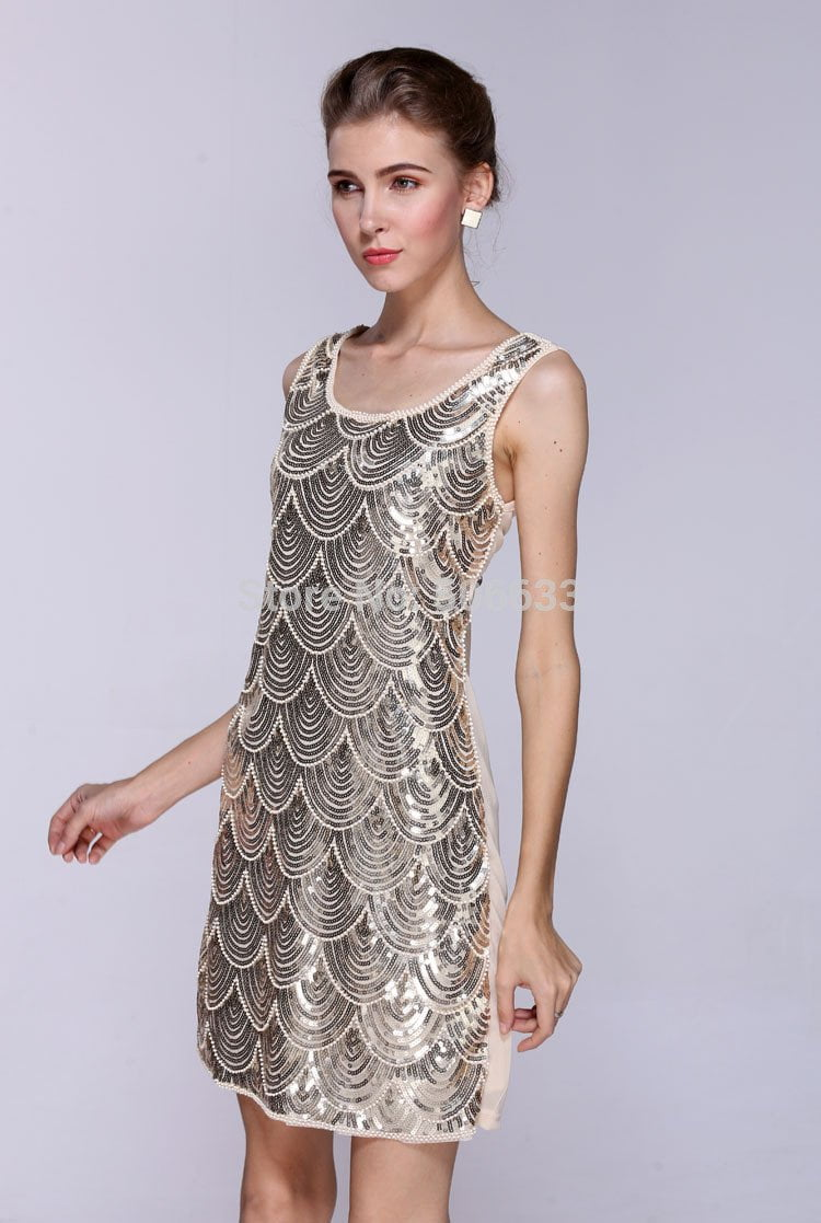 High quality Sequin ladies summer BLING Paillette bandage dresses evening party-Dress-SheSimplyShops