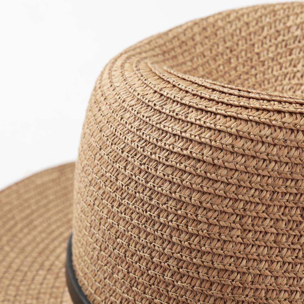 Summer Hats For Women Fordable Wide Brim Beach Sun Hat Straw Beach Cap Ladies Elegant Hats Girls Vacation Tour Hat-HATS-SheSimplyShops