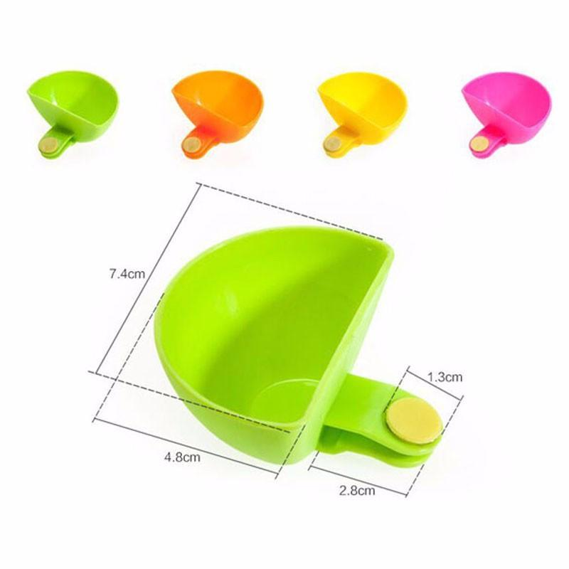 4 PCS Set Assorted Salad Sauce Ketchup Jam Dip Clip Cup Bowl Saucer Tableware Kitchen-SheSimplyShops