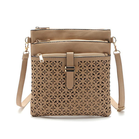 Faux Leather Crossbody-SheSimplyShops