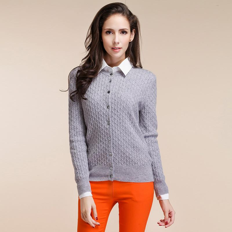 Trendy Knitted Cashmere Sweater
