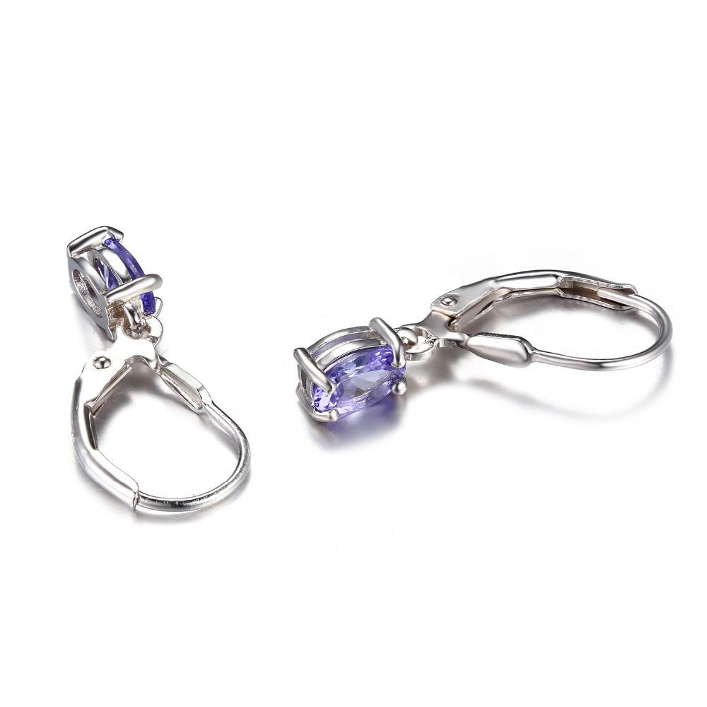 ring is purple real cluster gold amp loading diamond itm image white revoni solid tanzanite