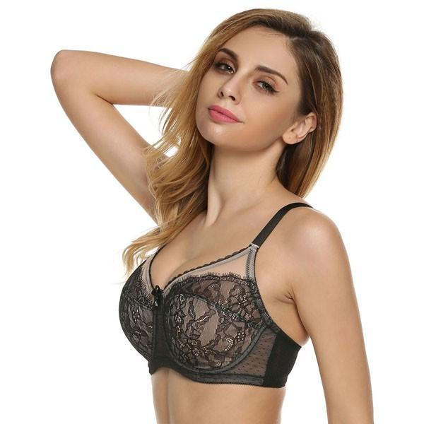 Black Adjustment Seamless Bras-BRAS-SheSimplyShops