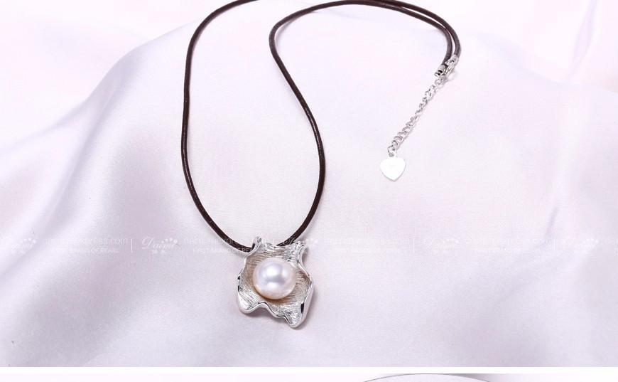 Elegant Pearl Pendant Pearl Pendant 5 Color Natural Freshwater Pearl Pendant Necklace Jewelry-NECKLACES-SheSimplyShops