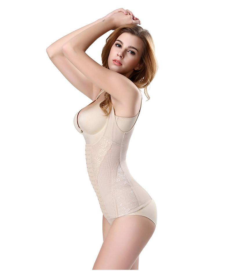 jacquard floral bodysuits shapewear firm aohaolee trainer controle underwear body shaper cintura cincher cors-BODYSUITS-SheSimplyShops