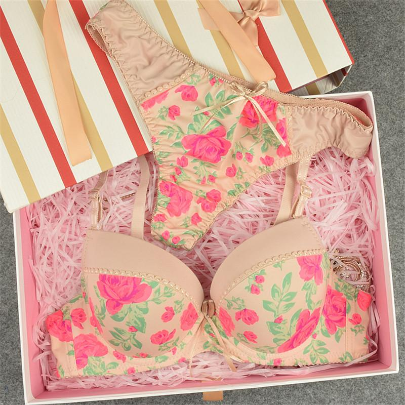 French romantic thong underwear panty set-INTIMATES-SheSimplyShops