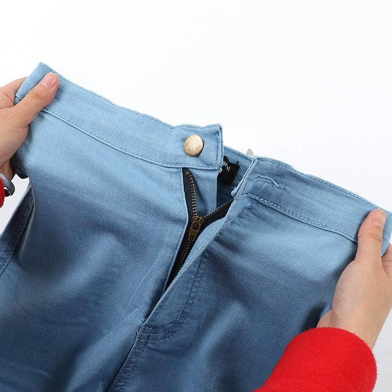 New Fashion Jeans Women Pencil Pants High Waist Jeans Sexy Slim Elastic Skinny Pants Trousers Fit Lady Jeans Plus Size-JEANS-SheSimplyShops
