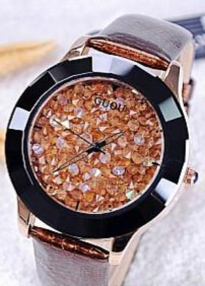 New Arrival Hongkong Brand Women Rhinestone Watches Austrian Crystal Ceramic Leather Band Women Dress Watches Drop Ship-Dress-SheSimplyShops