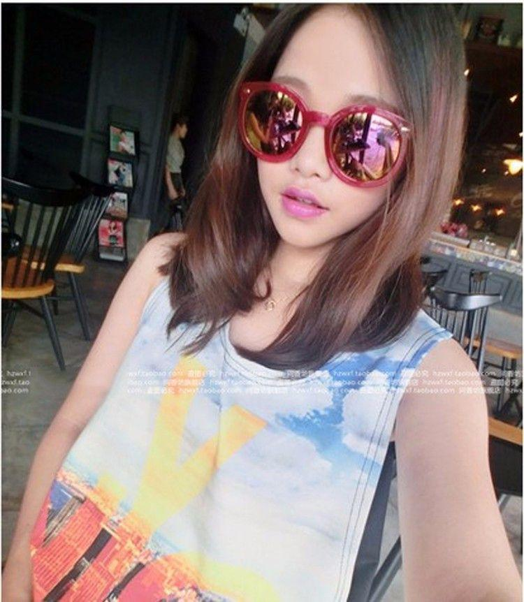 Colorful Transparent Vintage Round Sunglasses Women Arrow Mercury Coating Sun Glasses Female Oculos De Sol Feminino Gafas-Coats & Jackets-SheSimplyShops
