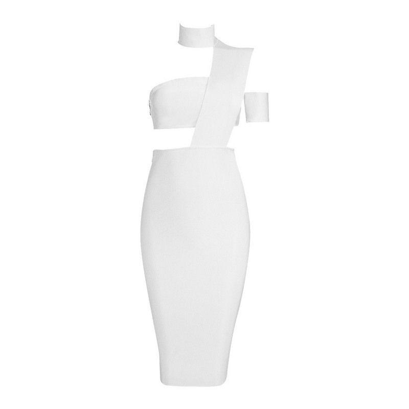 Sexy knee length Bandage Dress-Dress-SheSimplyShops