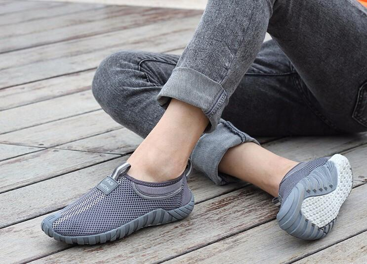 Men's Mesh Flats New Fashion Lovers Shoes Breathable Network Platform Shoes Women Men Outdoor Loafers Size 35-44 XYP007-SLIPS-SheSimplyShops