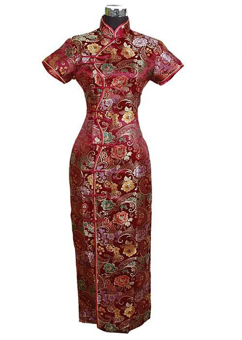 Elegant Traditional Chinese Dress-Dress-SheSimplyShops