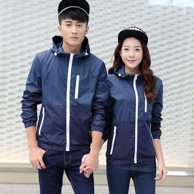 Casual Thin Windbreaker Coat-Coats & Jackets-SheSimplyShops