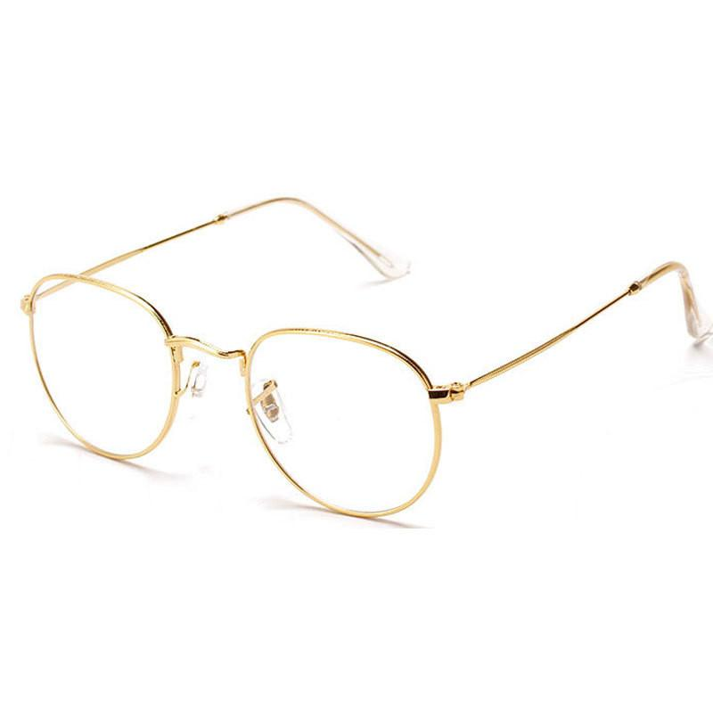 Vintage Glasses With Clear Lens-ACCESSORIES-SheSimplyShops