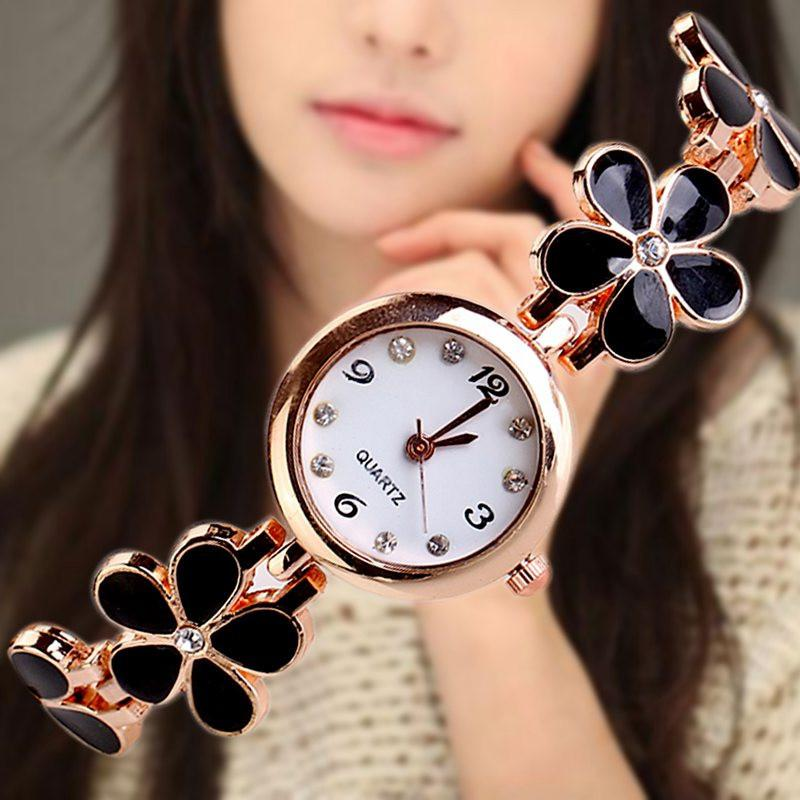 Lovely Daisies Flower Wrist Watch-SWIMWEAR-SheSimplyShops