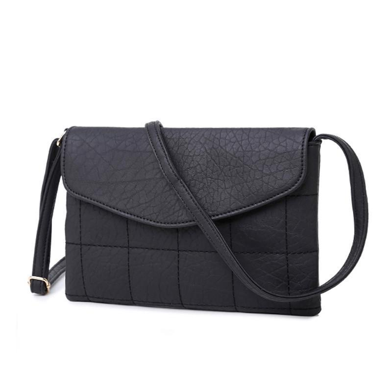 YBYT brand new casual envelope diamond lattice handbags women purse ladies clutch shoulder messenger crossbody bags-BAGS-SheSimplyShops