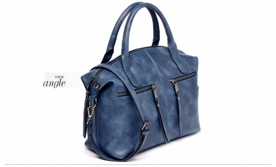 new fashion women tote bag with a pillow bag high quality PU handbag solid shoulder messenger bags-BAGS-SheSimplyShops
